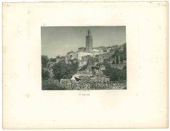 Tlemcen - Original Lithograph - Mid 19th Century