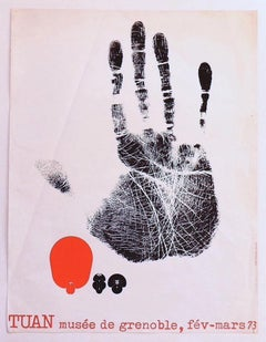 Tuan - Exhibition Poster - Original Offset Print - Late 20th Century
