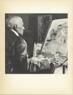 Unknown 'Georges Braque V' France Offset Lithograph
