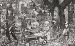 """""""Untitled (Halloween)"""" Print from Unknown Artist"""