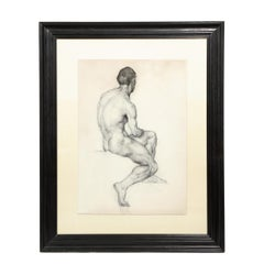 Untitled (Male Nude)