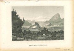 Veste Kufstein - Original Lithograph on Paper - Mid-19th Century