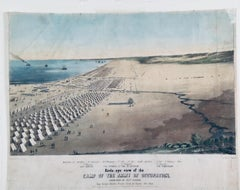 View of General Taylor's Mexican War Occupation Camp Near Corpus Christi, 1845