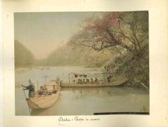 Views of Osaka - Vintage Albumen Print - 1890s