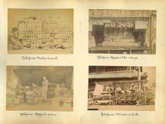 Views of Yokohama - Vintage Albumen Print - 1890s