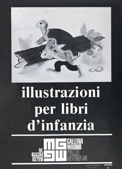 "Vintage Exhibition Poster ""Illustrations for Children"" - 1973"
