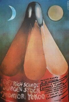 Vintage Poster of Palakatu Museum Biennale - Original Offset Print - 1976