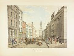 Wall Street in 1856