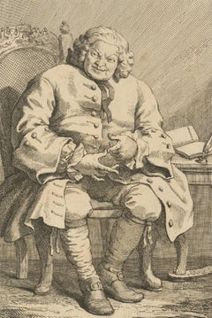 William Hogarth (1697-1764) - c.1775 Engraving, Simon, Lord Lovat