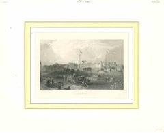 Znaim  - Original Lithograph - Mid 19th Century