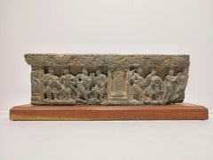 2nd-century Gandharan carved Indian relief panel