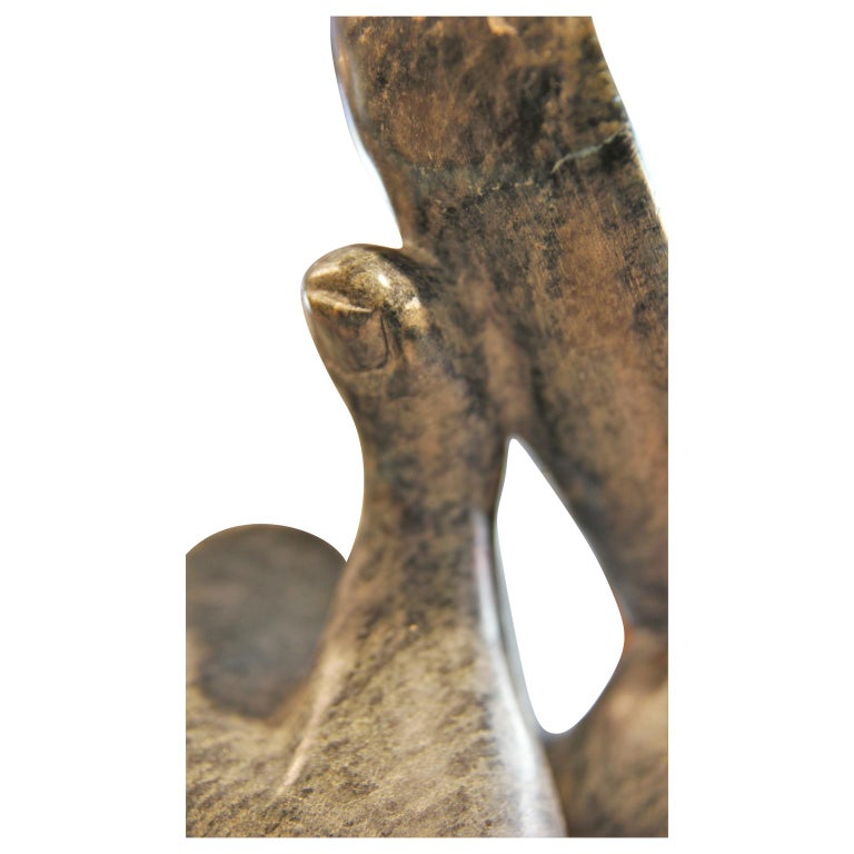 Abstract Figurative Marble Scuplture Signed Mario C: G: For Sale 4