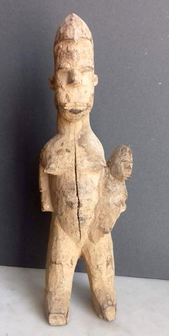 African art tribal maternity figure, Lobi peoples Ghana - Ivory Coast