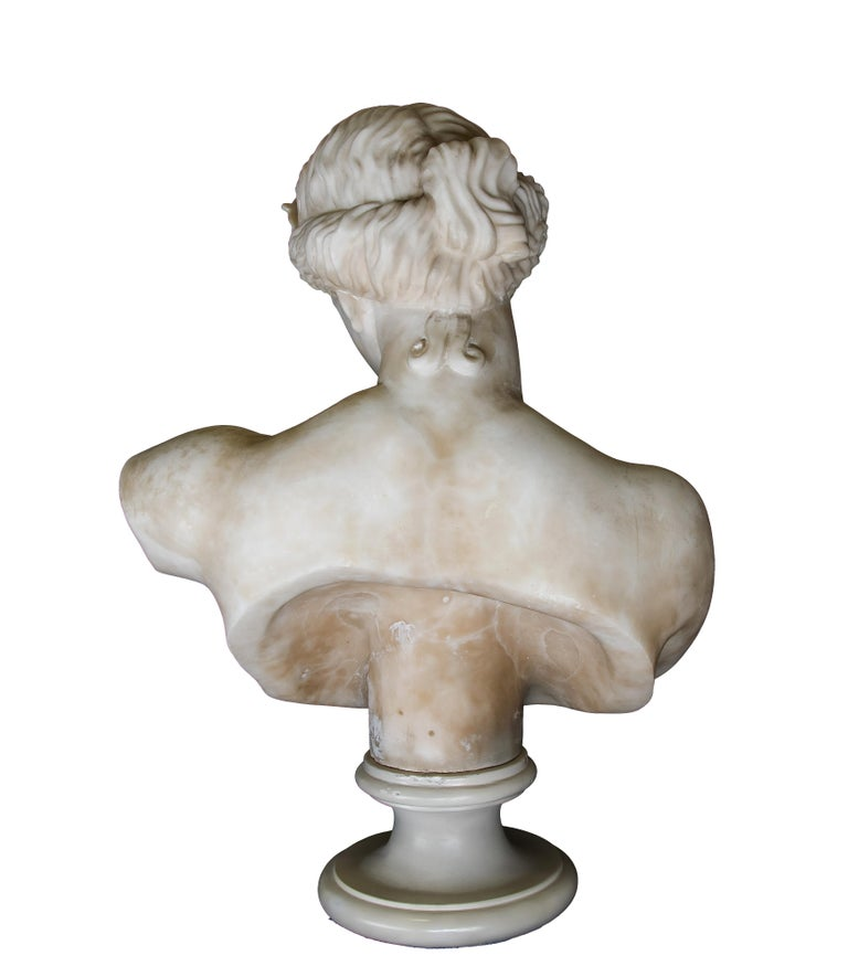 Ancient Marble Bust of Aphrodite - Italy - 19th Century - Sculpture by Unknown