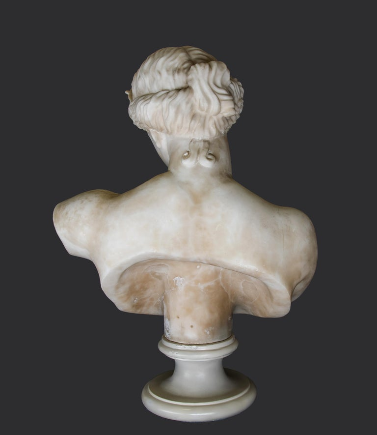 Ancient Marble Bust of Aphrodite - Italy - 19th Century 2