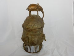 ASANTE ELEPHANT GOLD WEIGHT CONTAINER