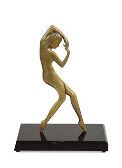 Bronze Art Deco Nude, Attributed to Emory Plus Seidel