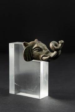 Bronze Head of an Elephant Roman Empire 2nd Century AD
