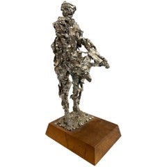 Brutalist Figural Sculpture of a Man