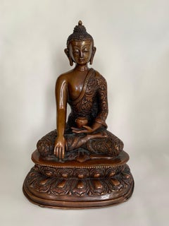 Buddha Statue 8 Inch Handcrafted by Lost Wax Process