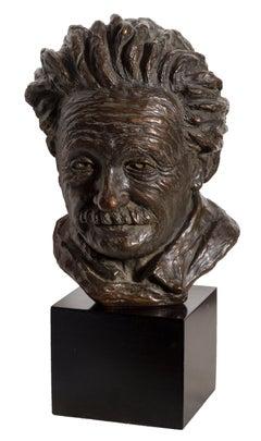 Bust of Albert Einstein, Sculpture 1964