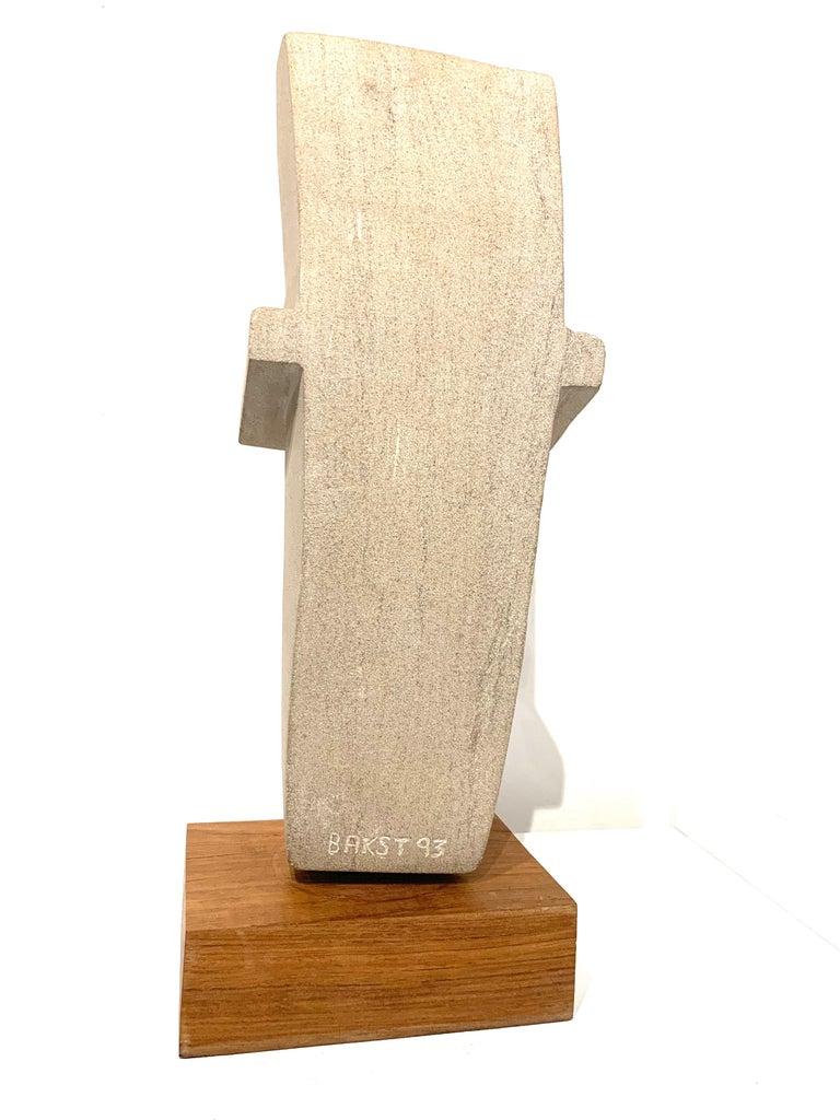 Cast Concrete Sculpture by Bakst For Sale 3