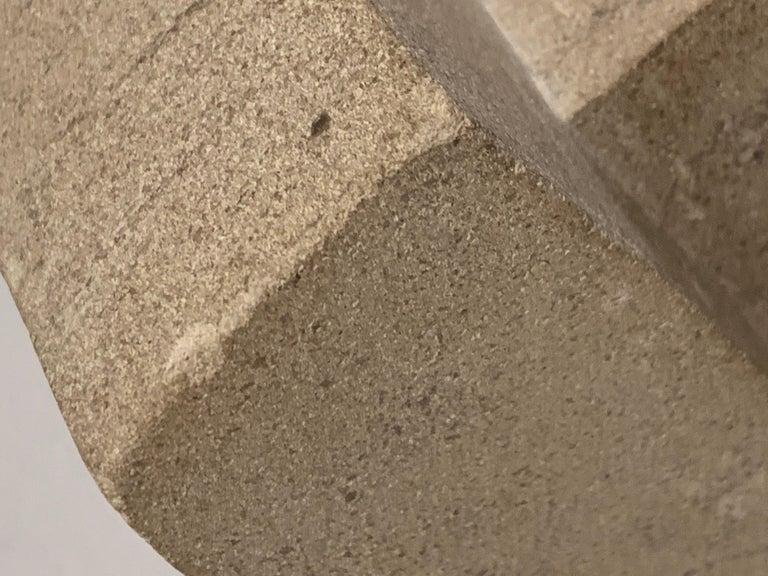 Cast Concrete Sculpture by Bakst For Sale 5