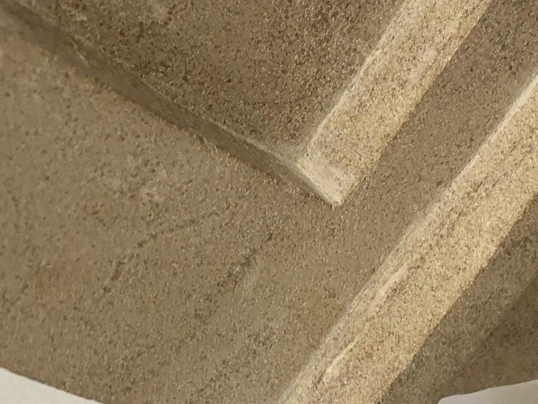 Cast Concrete Sculpture by Bakst For Sale 6