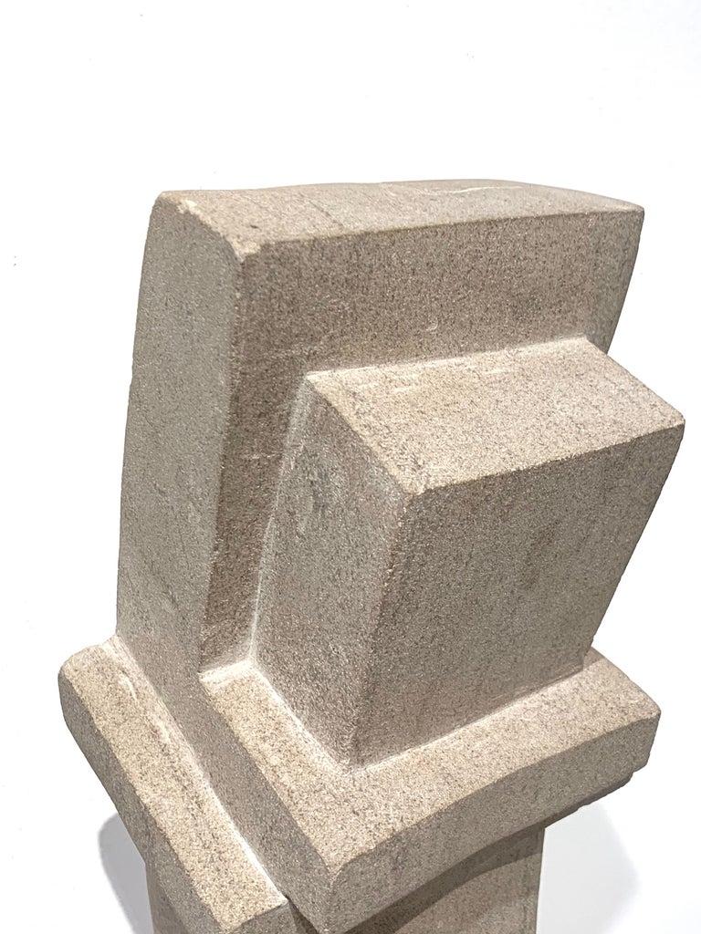 Cast Concrete Sculpture by Bakst For Sale 7