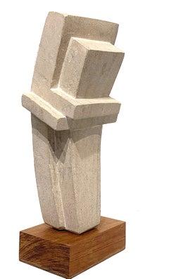 Cast Concrete Sculpture by Bakst