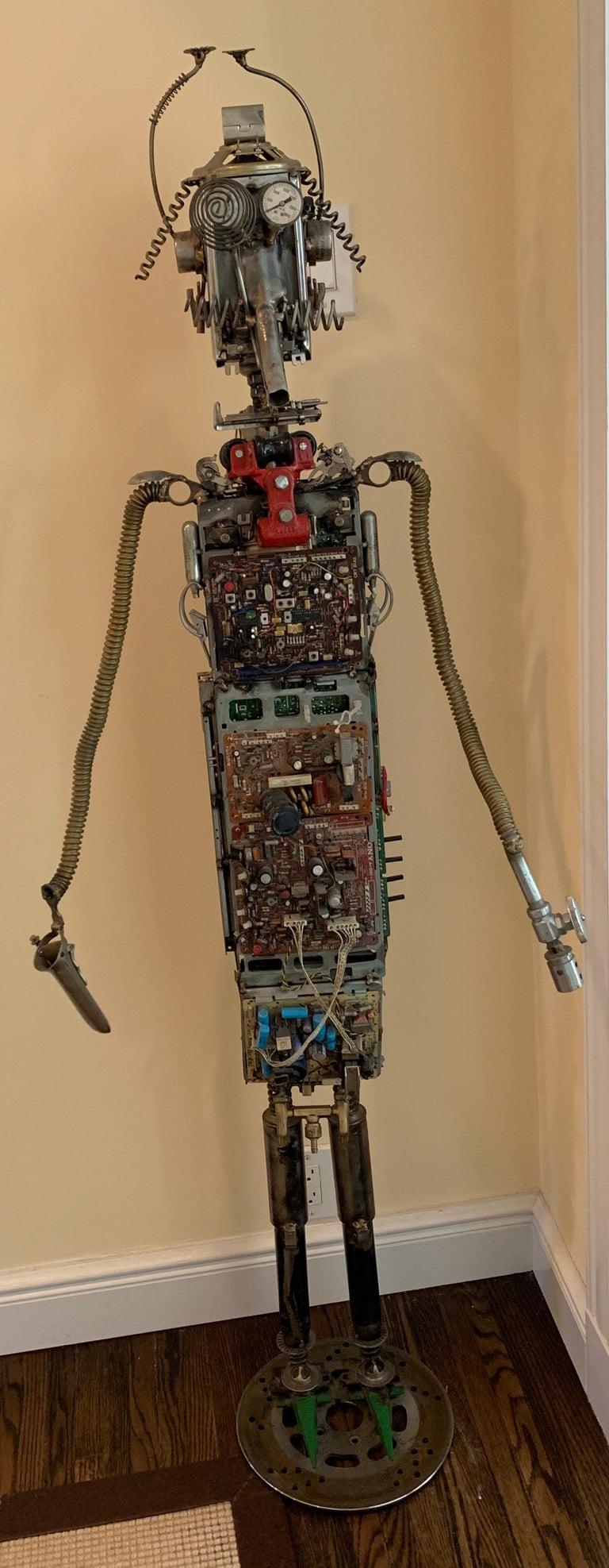 Circuit Man - sculpture  For Sale 9