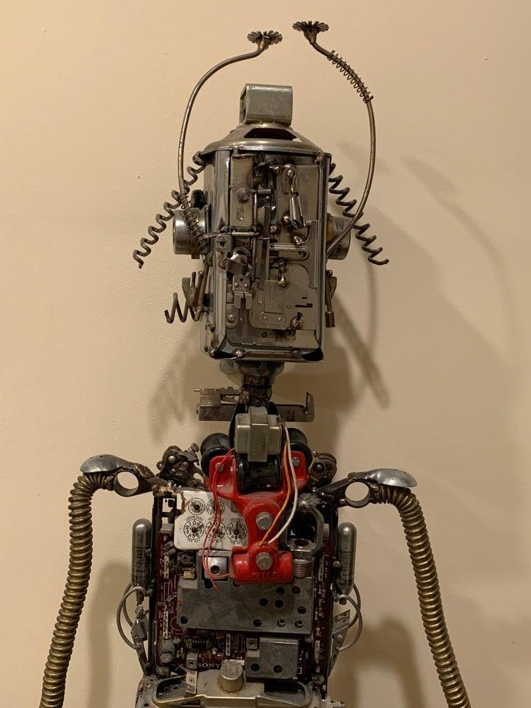 Circuit Man - sculpture  For Sale 4
