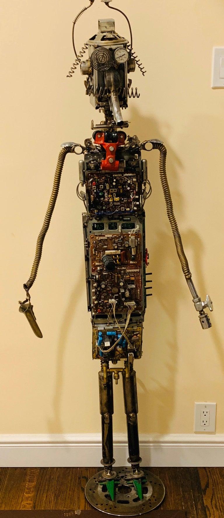 Circuit Man - sculpture  For Sale 7