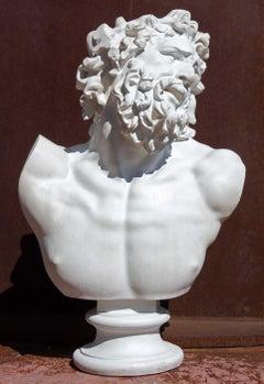 Classical Renaissance Bust of a Man