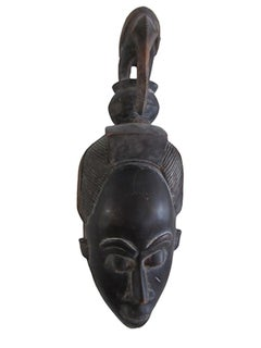 """Dance Mask,"" Carved Wood created c. 1965"