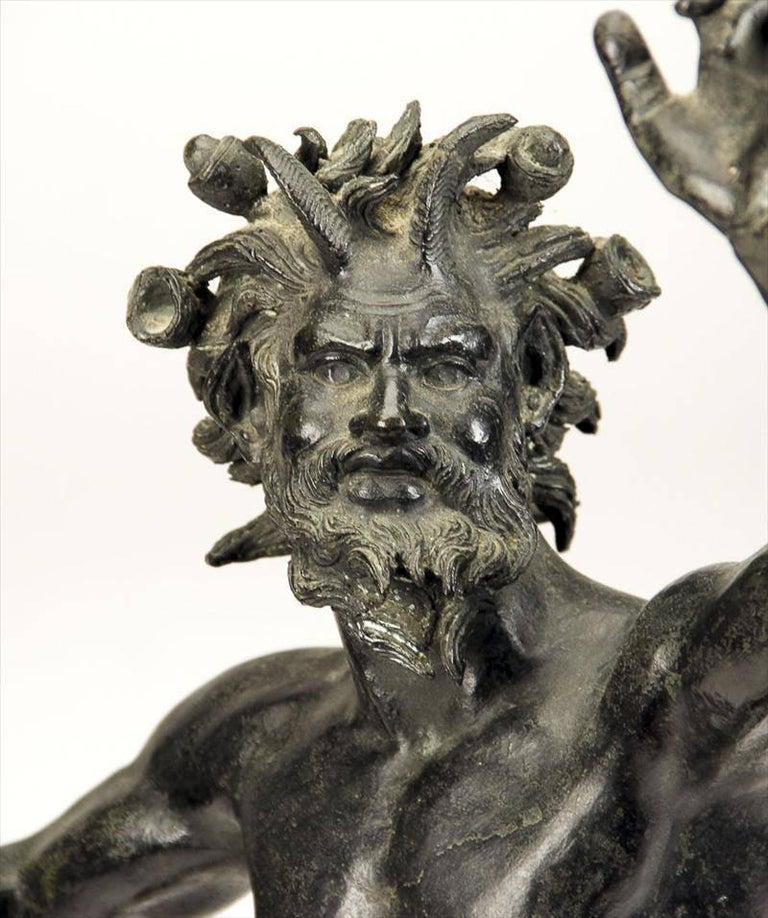 Unknown - Dancing Faun, Bronze Sculpture For Sale At 1Stdibs-3781