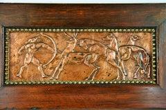 Deco Copper Relief circa 1920's