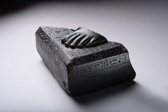 Egyptian Basalt Healing Statue
