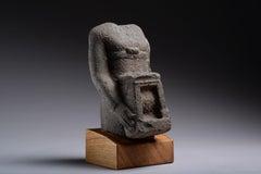 Ancient Egyptian Basalt Naophorous Statue