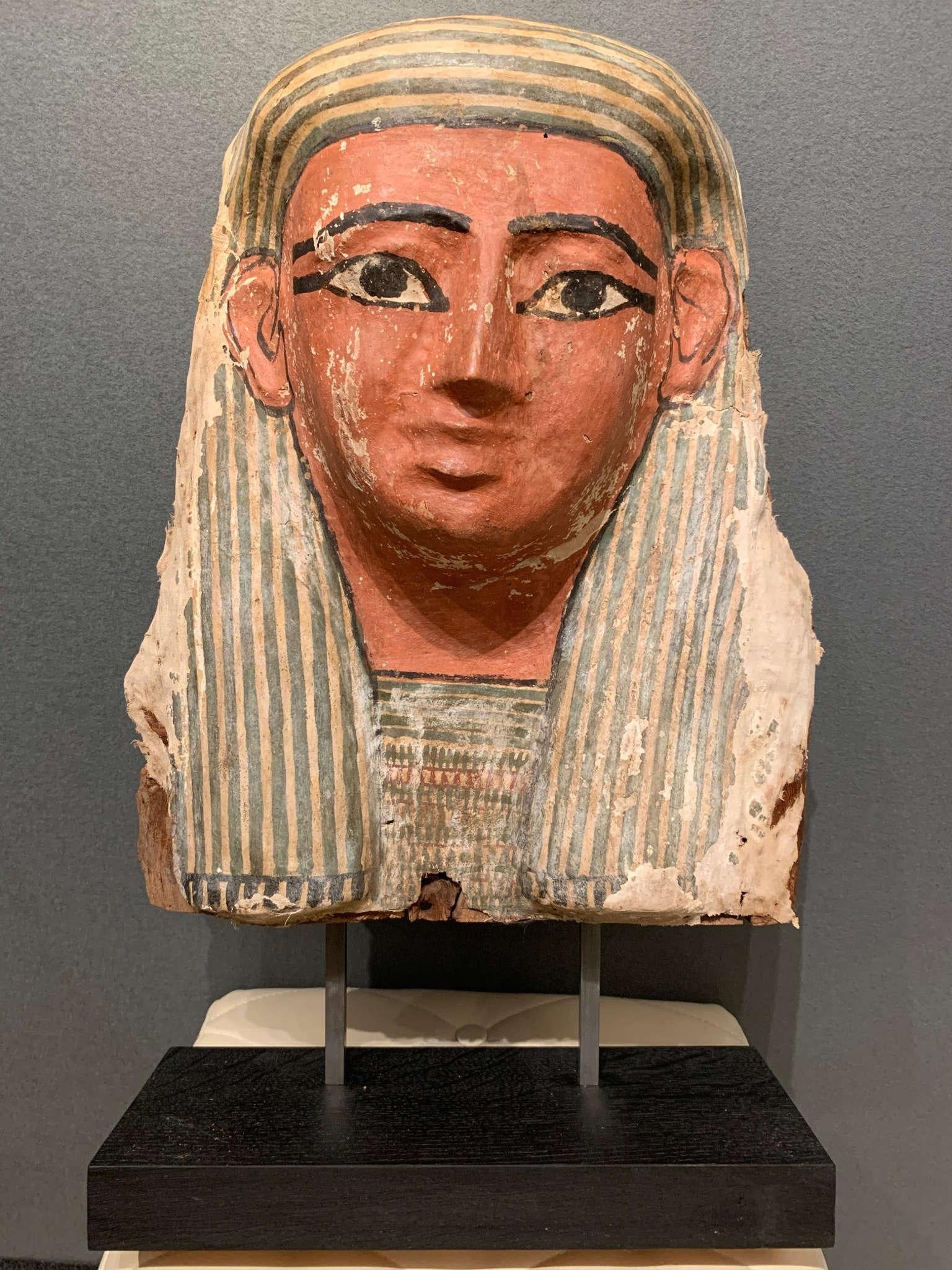 Egyptian Coffin mask