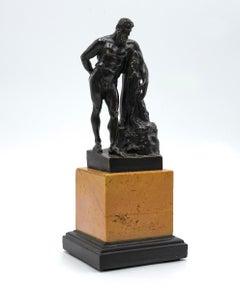Farnese Hercules - Original Bronze Sculpture - 20th Century