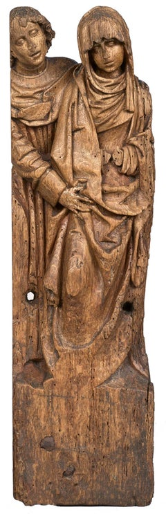 Fragment of altarpiece, Brabant school, late 15th century