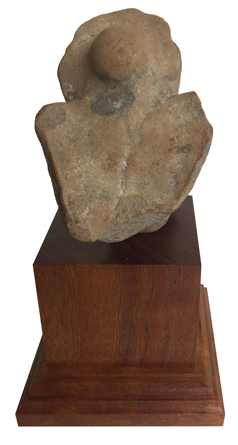 Fragment of an Owl. This is a fine example of early sculpture with exceptional provenance, likely from the Mesopotamia region and dating to approximately 1000BC.  Mesopotamia is a historical region in Western Asia situated within the