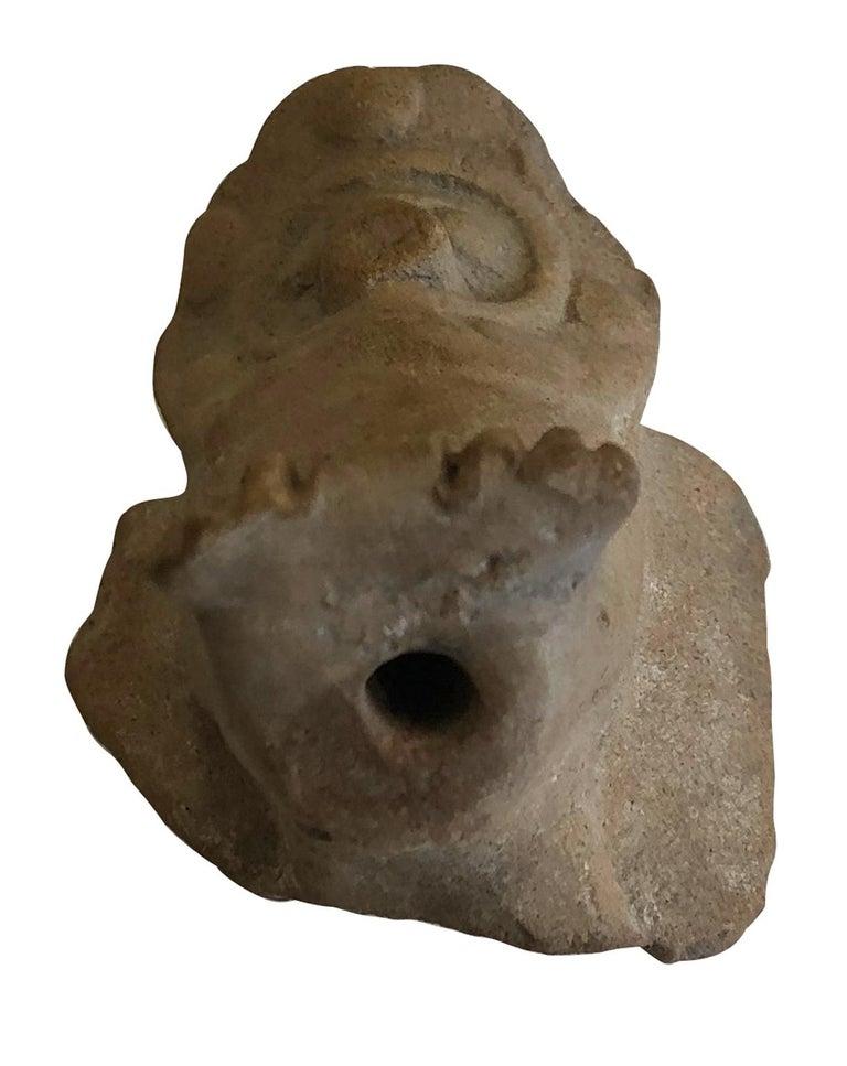 Fragment of an Owl - Mesopotamia - Circa 1000 BC For Sale 1