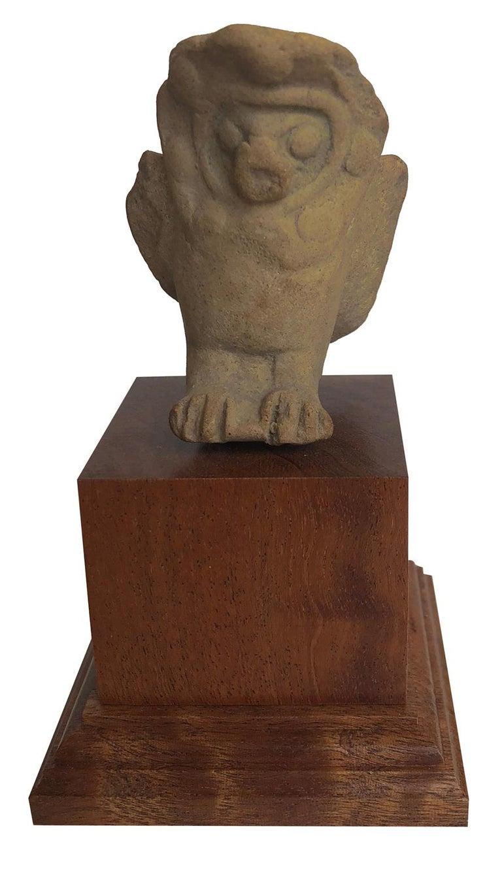 Unknown Figurative Sculpture - Fragment of an Owl - Mesopotamia - Circa 1000 BC