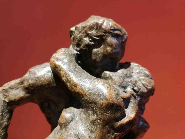 French Artist, Mythological scene, late 19th, terracotta For Sale 3