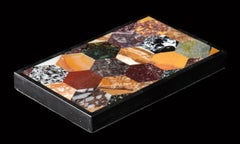 Grand Tour Collection Of Specimen and Rare Marble Plaque