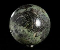 Grand Tour Marble Italian Sculpture of Sphere Classical Roman Baroque