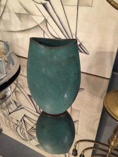 Handmade Vase Turquoise Glaze