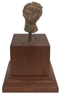 Head of a Deity - Fragment